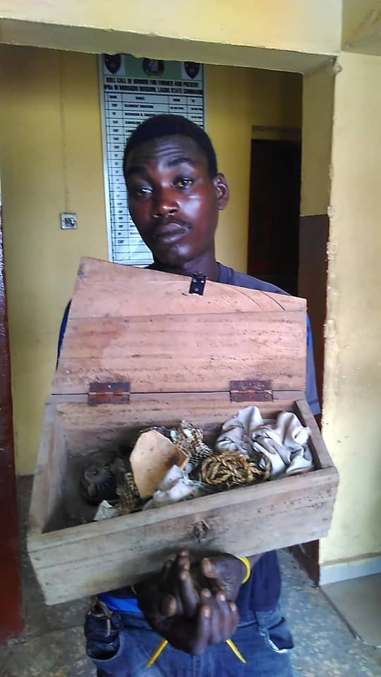 Suspected ritualist nabbed