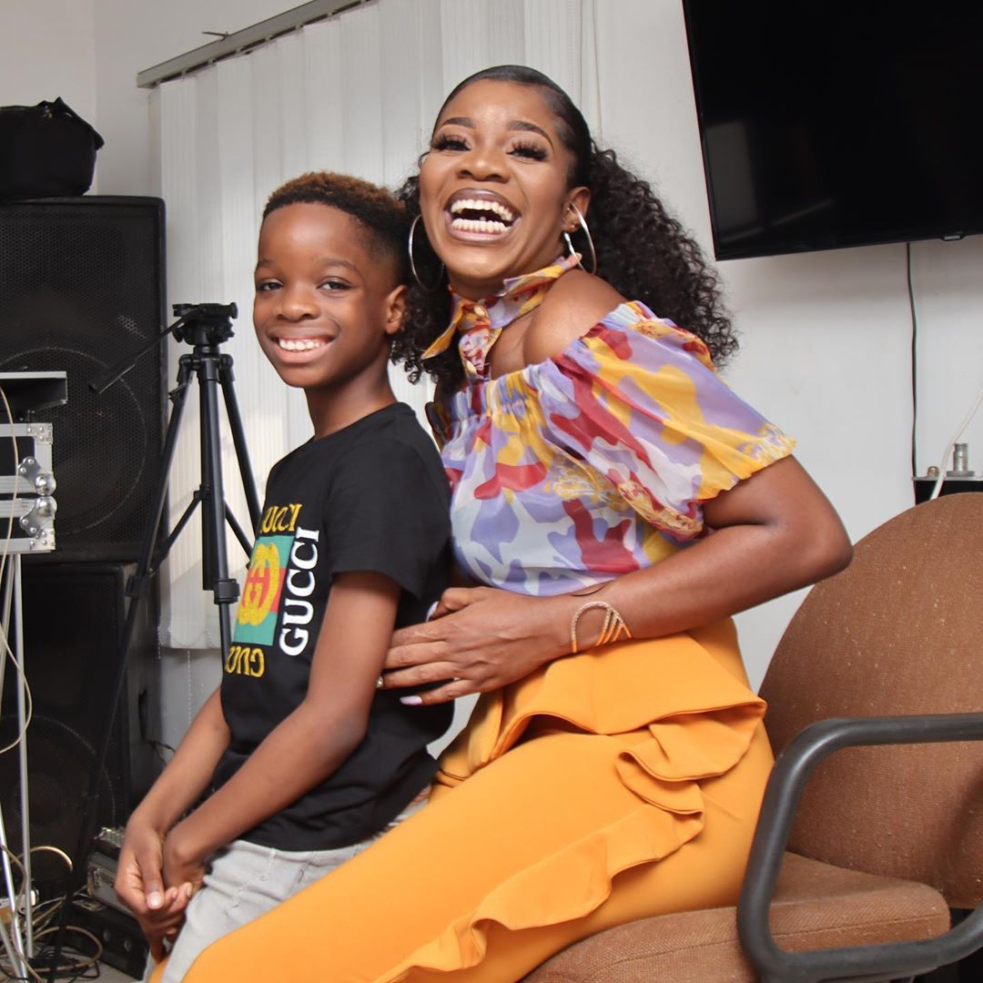 Wizkid's first baby mama gushes
