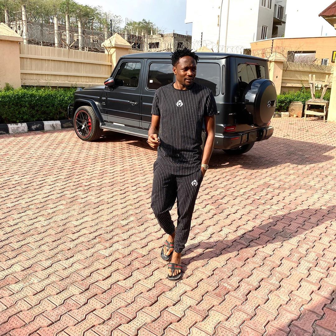 Foorballer, Ahmed Musa shows off his expensive garage in new video (Watch)