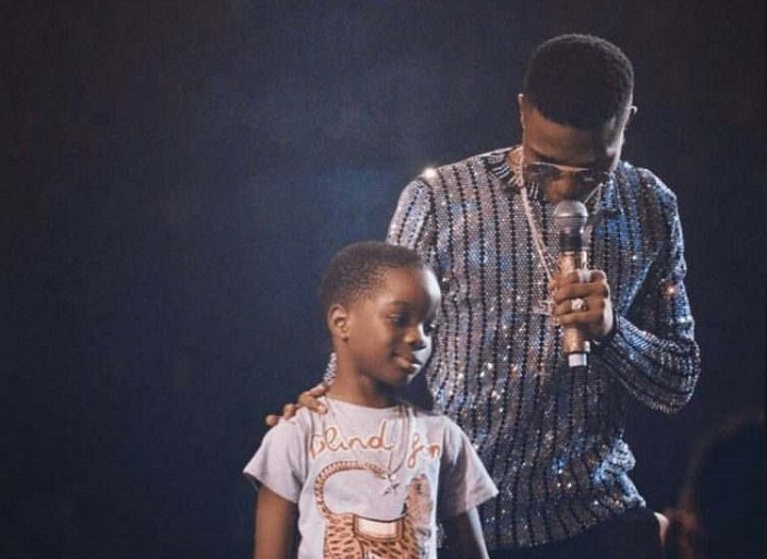 Wizkid celebrates his first son on the occasion of his 9th birthday