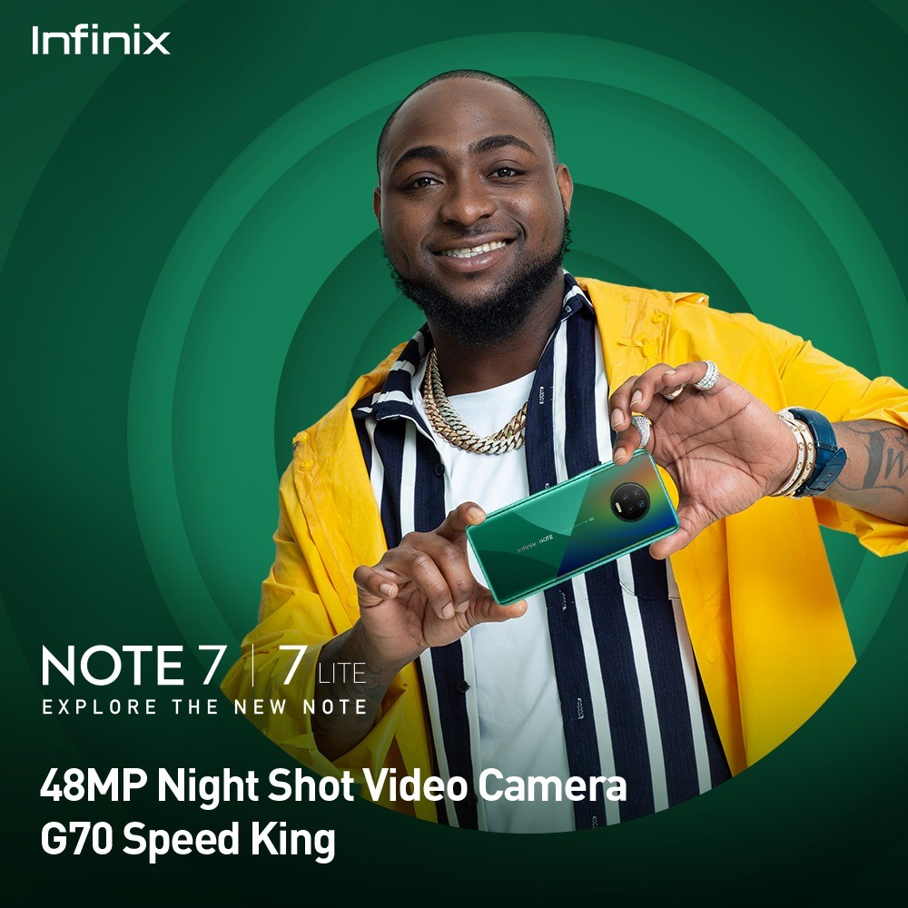 INFINIX NOTE 7 takes videography