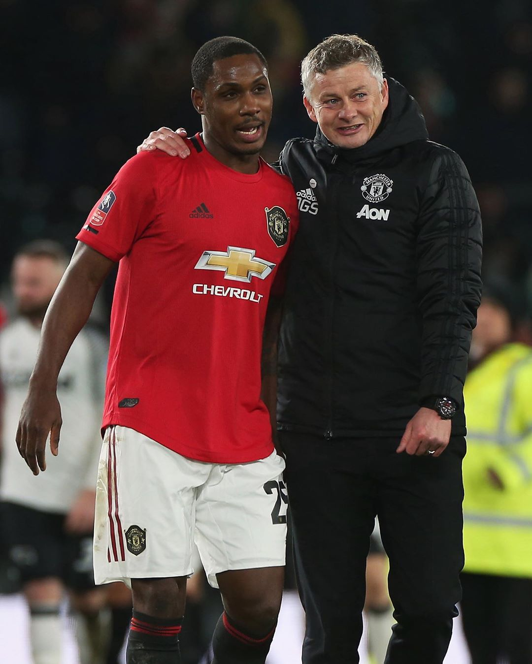 Super Eagels star, Odion Ighalo's Man. U loan extended to 2021