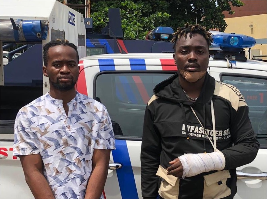 Nigerian singer, Chinonso and Pianist, Chimelu arrested for robbery in Lagos