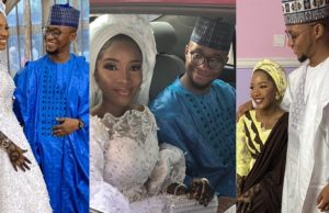 Nigerian couple marry