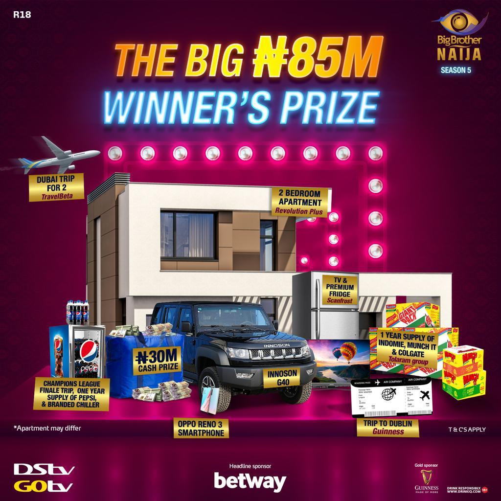 Bbnaija season 5 prize has been revealed