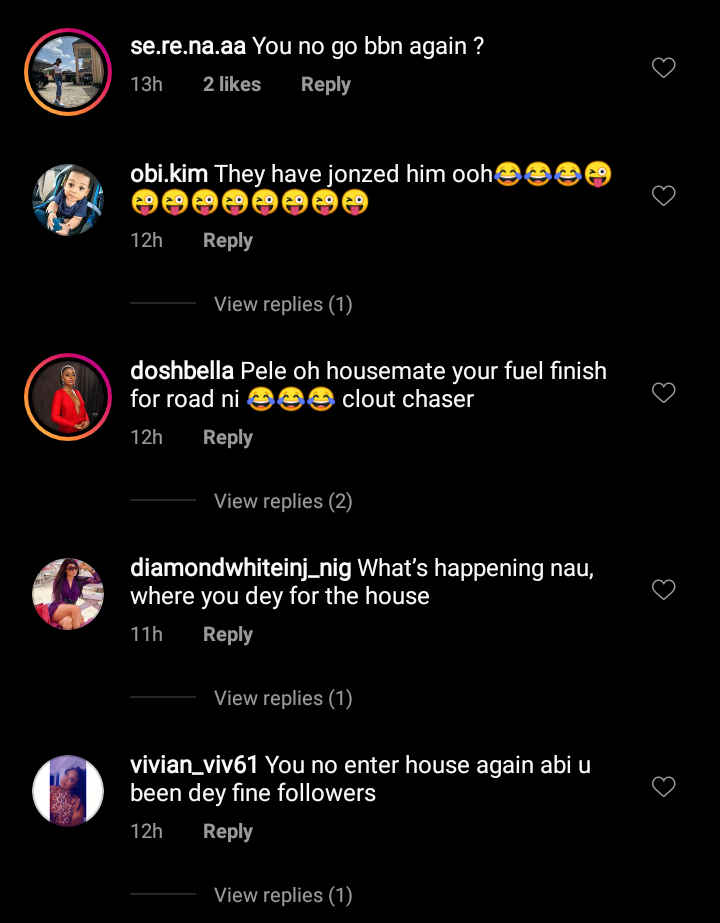 Nigerians mock cross dresser
