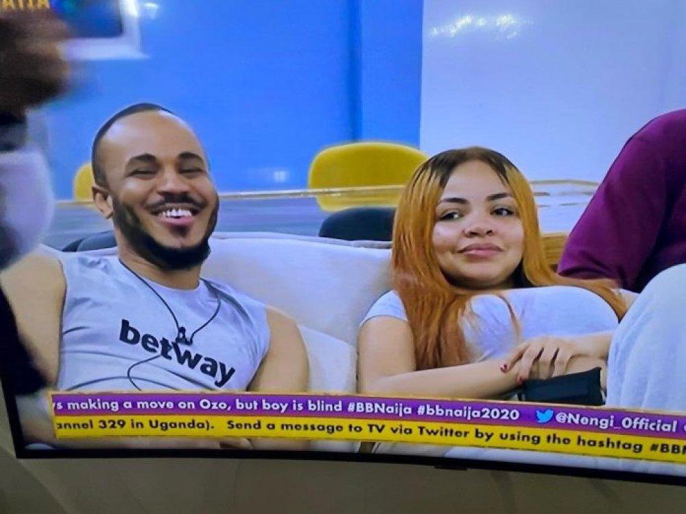 "#BBNaijaUpdate:  ""People wait for years to kiss me"" – Nengi boasts to Ozo"