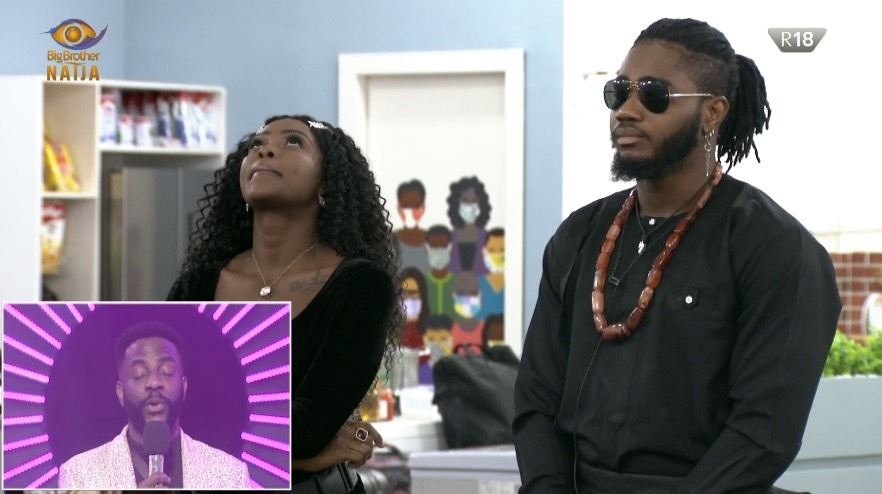 #BBNaija: Ka3na and Lilo become first housemates to be evicted from the lockdown house