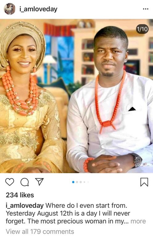 Fiance of Lady crushed to death in Lagos shares photos from when he proposed to her.