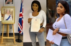 Nigerian lady jubilates