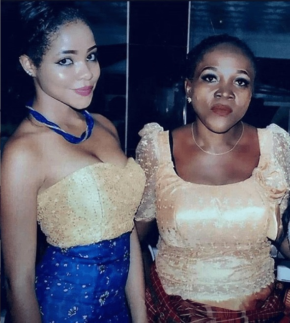 #BBNaija: Photo of Nengi and her late mother, Flora