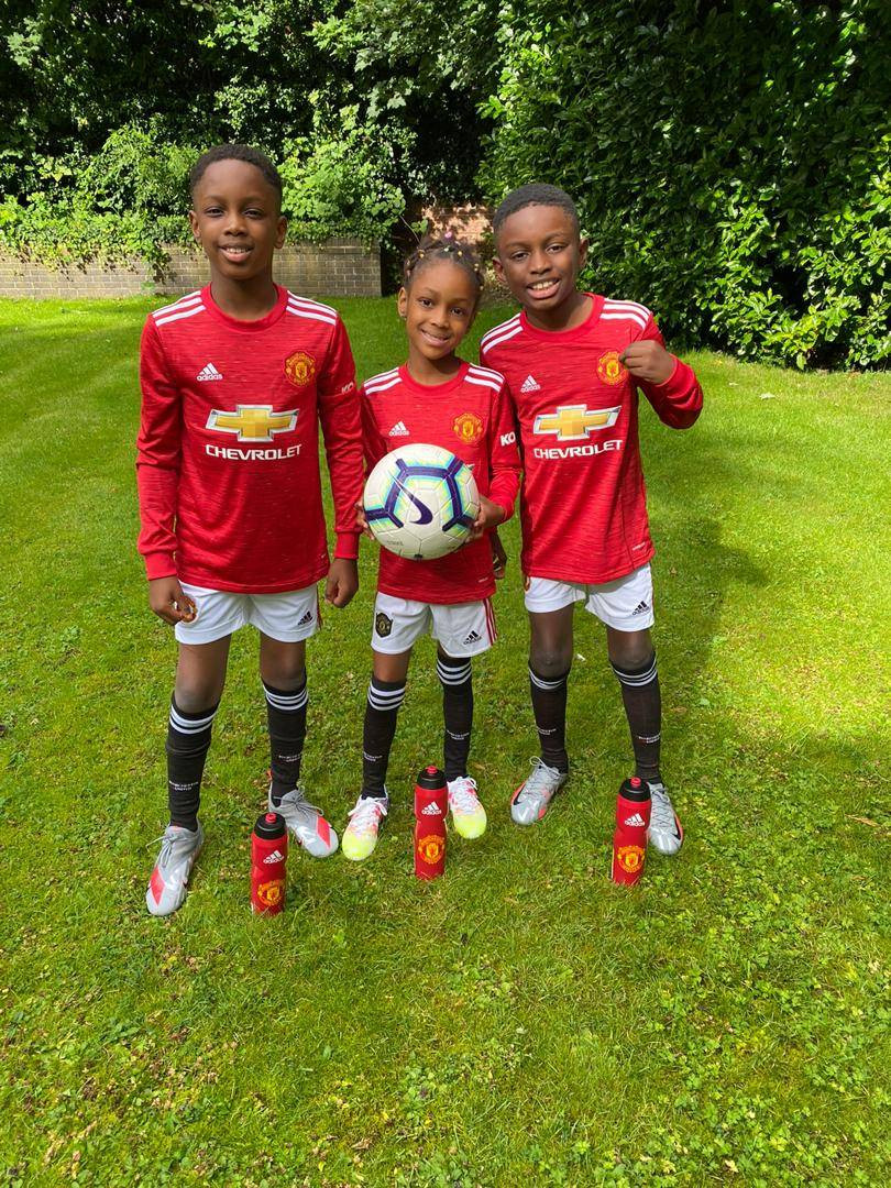 Odion Ighalo's children