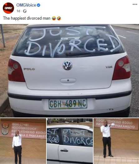 man divorce post
