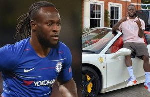 victor moses shows off
