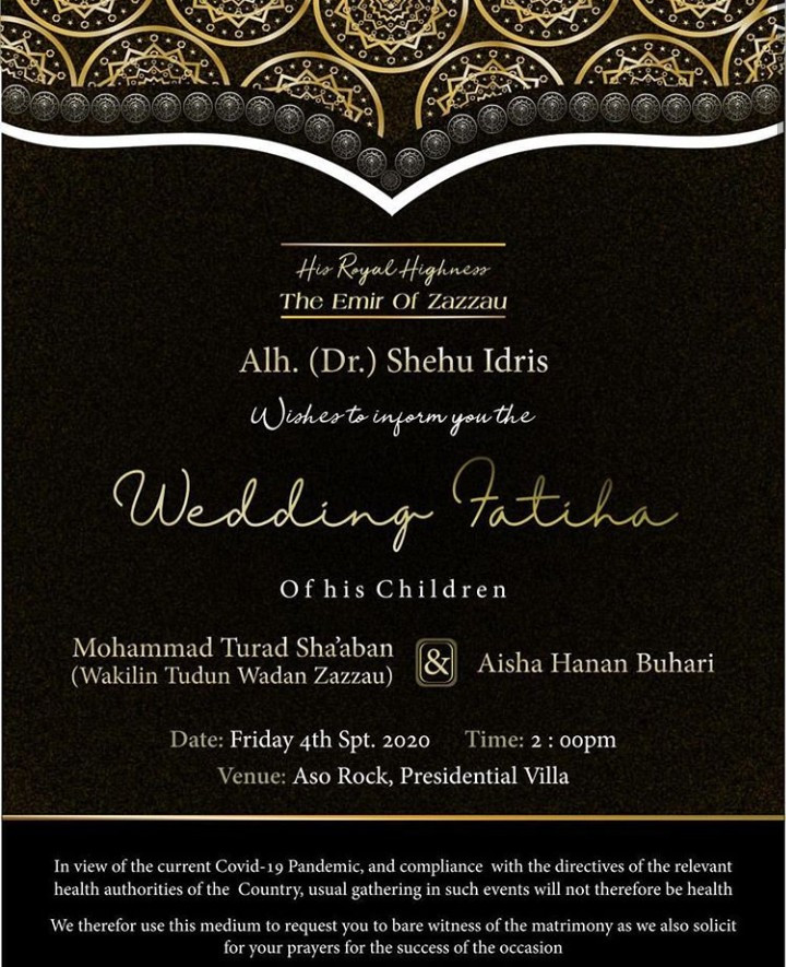 Hanan wedding invitation