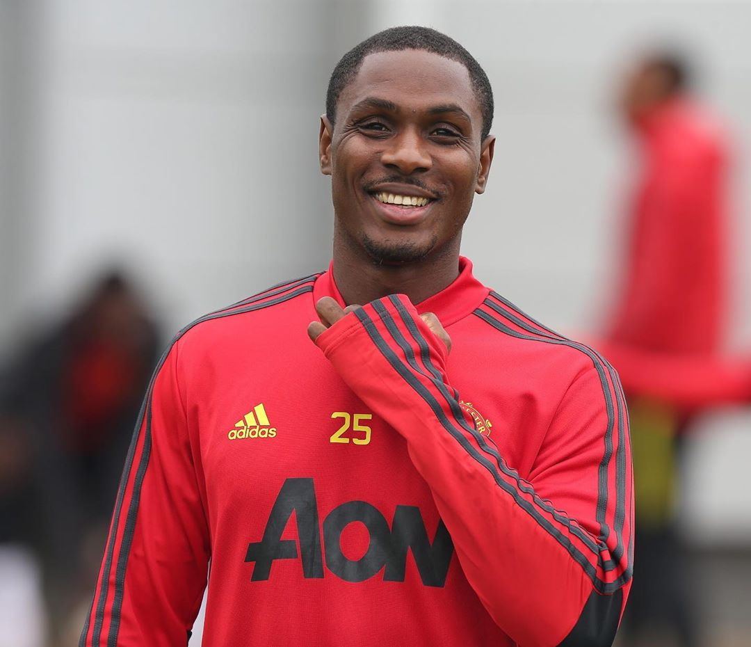 united striker odion ighalo