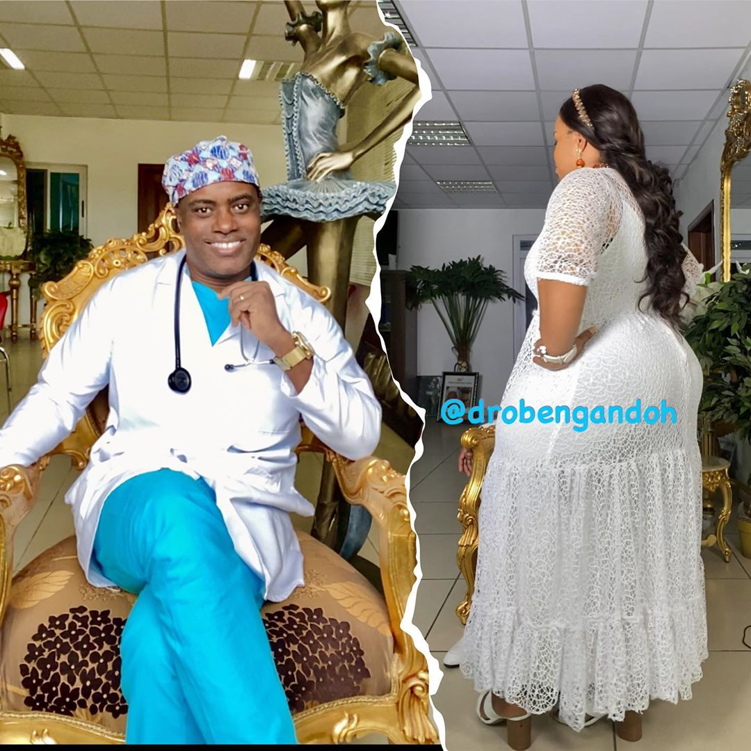 Ghanian plastic surgeon