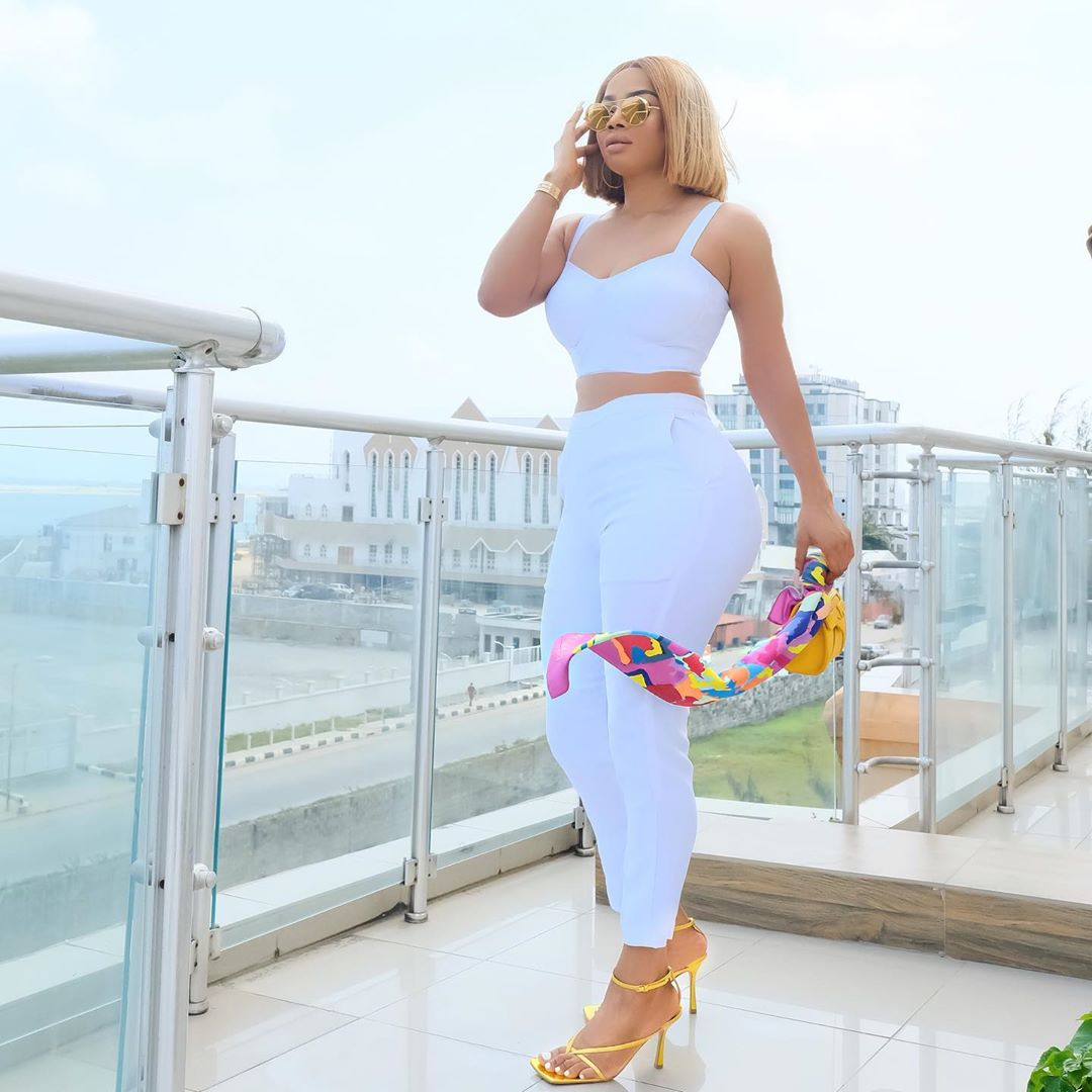 """Stop calling me your role model, I'm not your role model"" – Toke Makinwa blows hot"