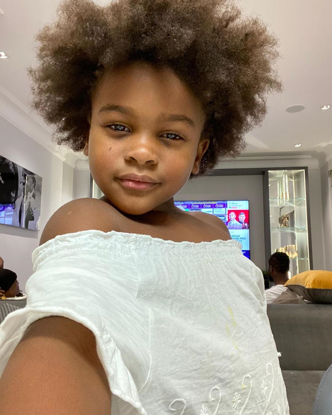 Victor Moses daughter