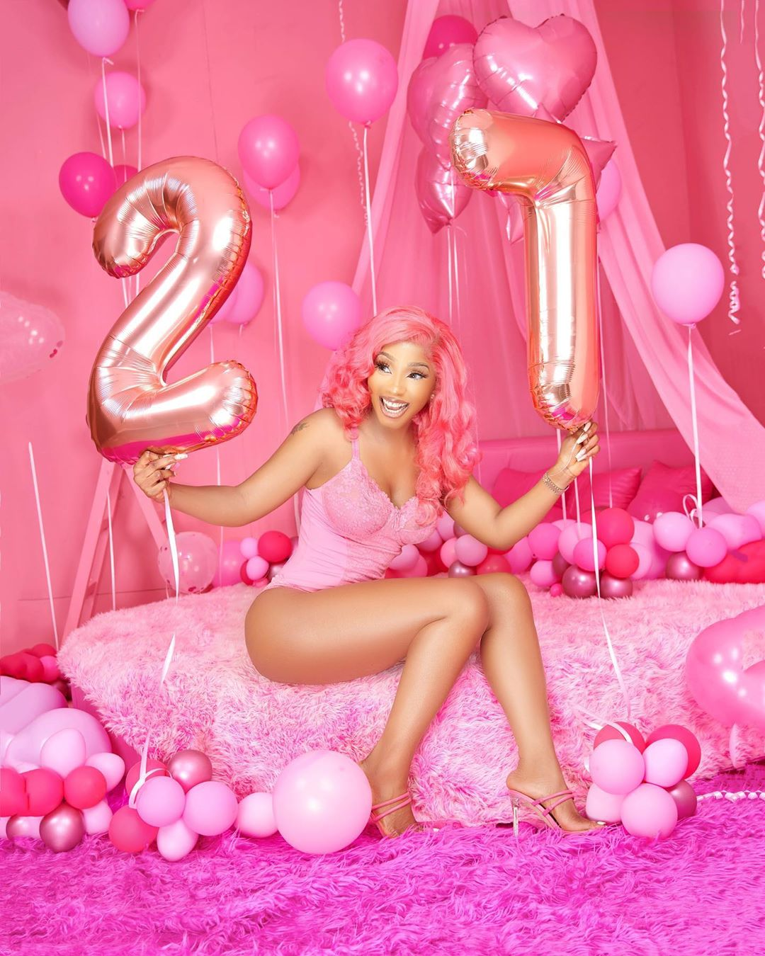 Mercy Eke birthday photos