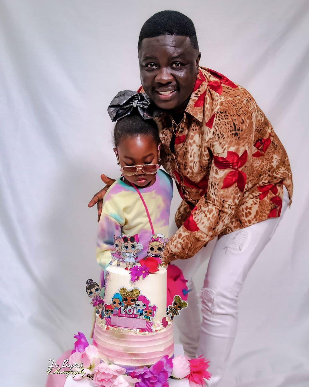 Seyi Law celebrates daughter
