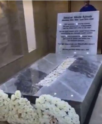 Ajimobi's grave