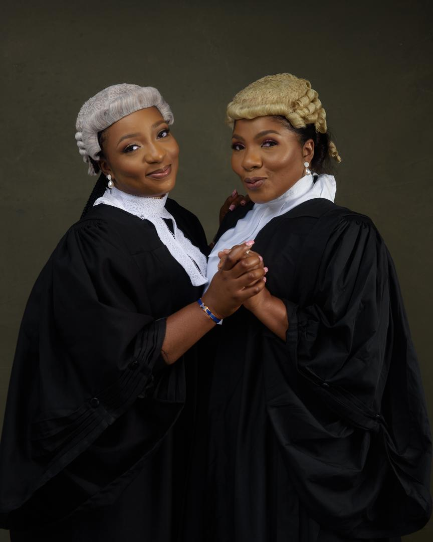 Barrister mother and daughter