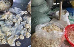 324,000 used condoms
