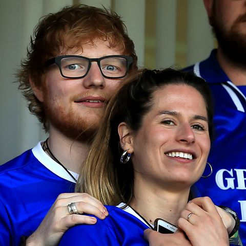 edsheeran and wife
