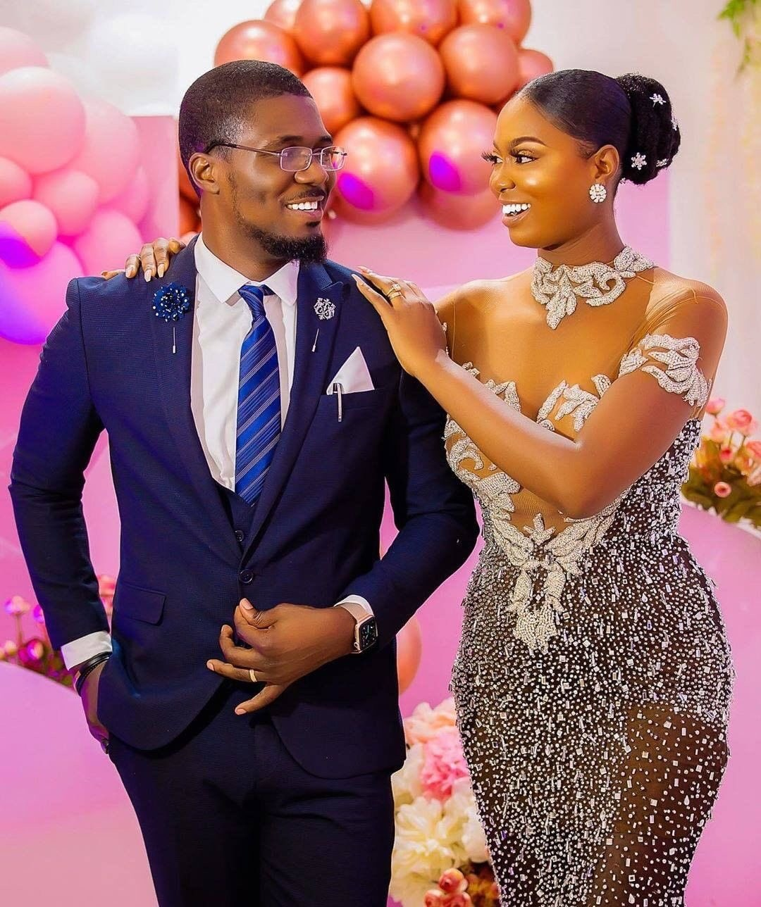 Nigerian man charmed his better half