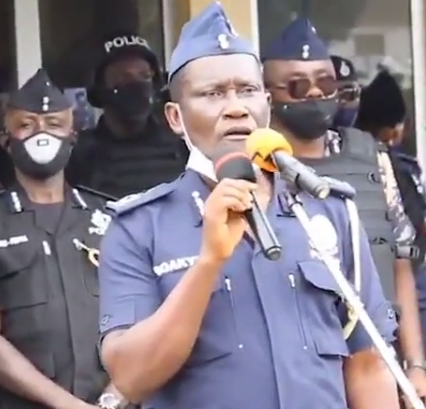 Ghanaian police officer advises his colleagues