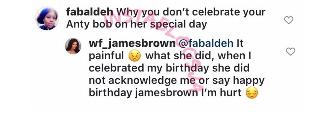 james brown bobrisky's birthday