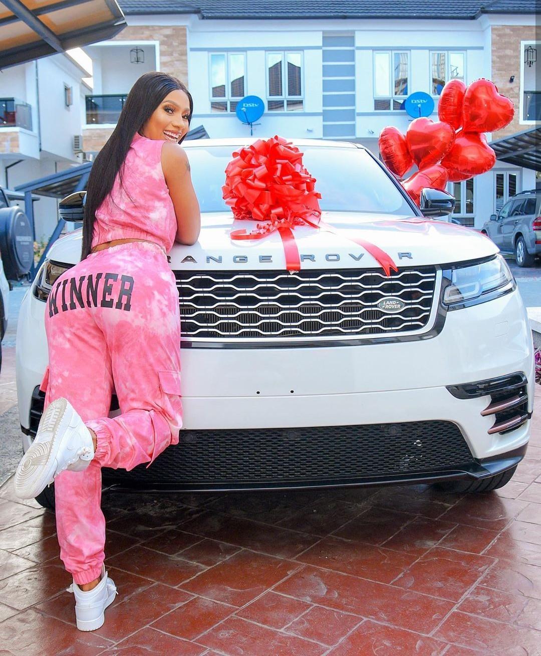 Mercy Eke gifts herself