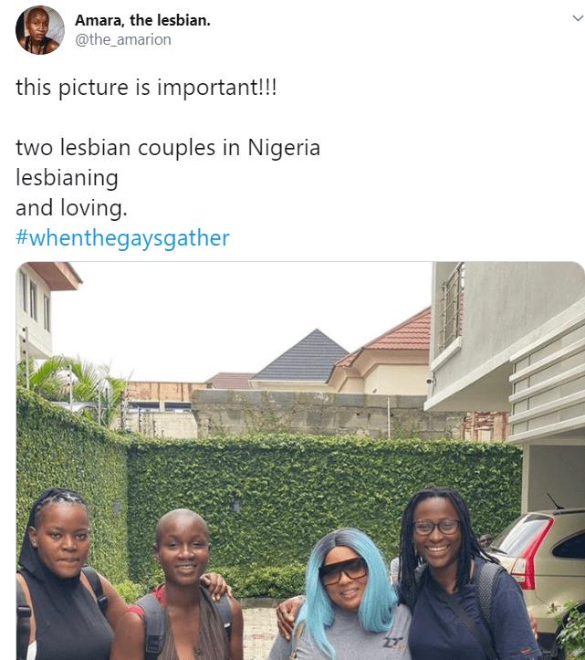 Nigerian lesbian couples