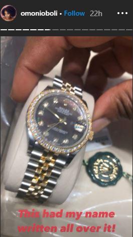 omoni oboli rolex wristwatch