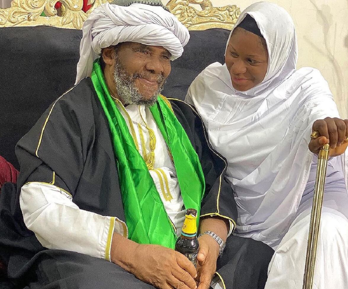 Pete Edochie cries out