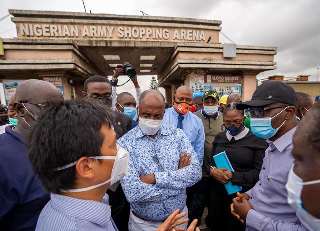 sanwo-olu visit