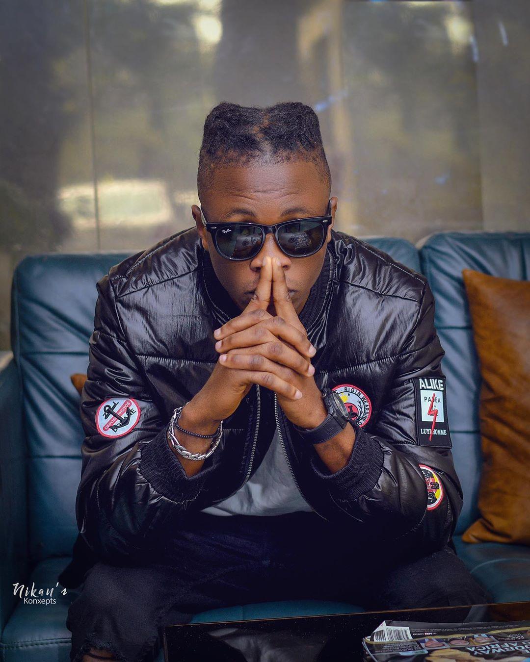 Laycon shares rap video