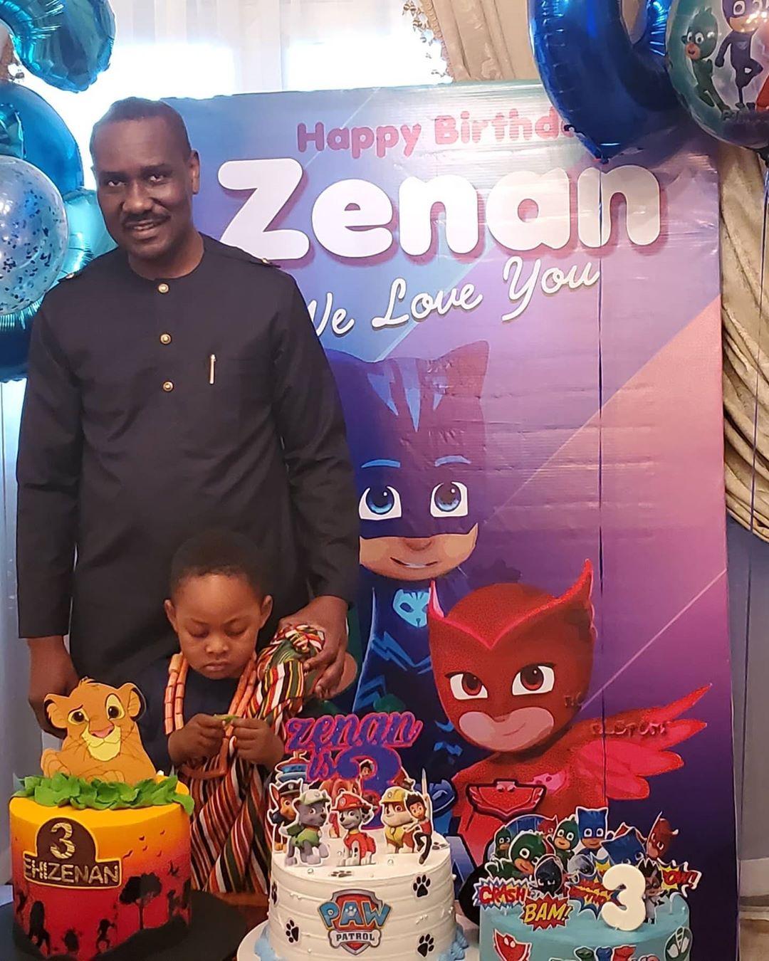 Ighodalo's sonZenan