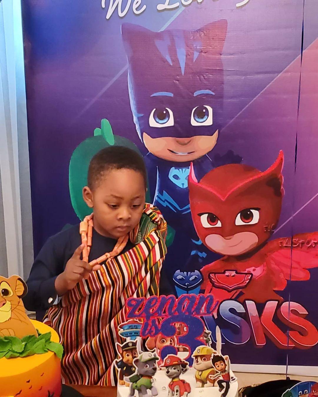Ighodalo's son Zenan
