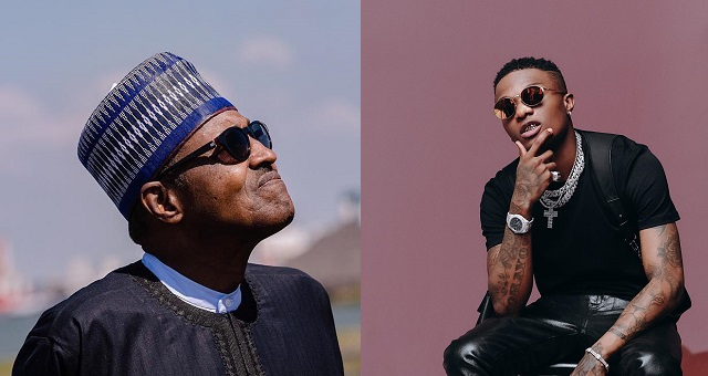 Wizkid blasts President Buhari