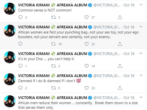 victoria kimani safe