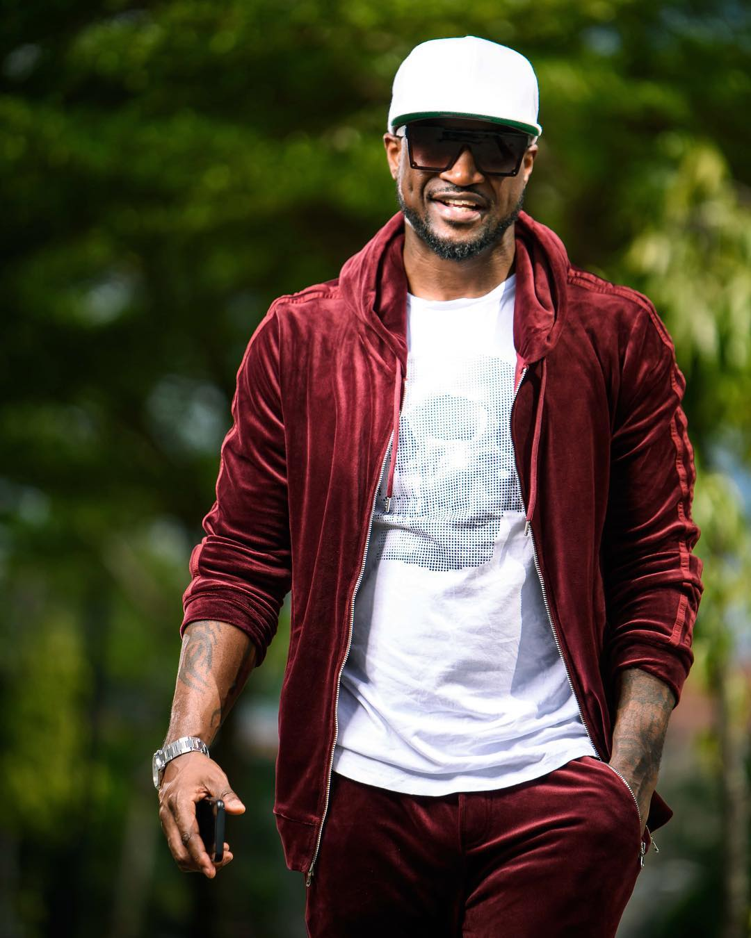 Peter Okoye blasts troll