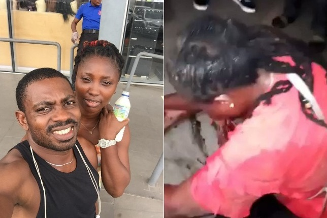 Sergeant Eze Aiwansoba Joy Eze The police officer who shot his girlfriend in the mouth has been arrested