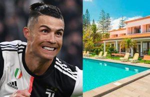 Ronaldo's house burgled