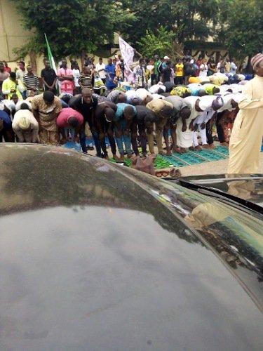 muslim end sars protesters