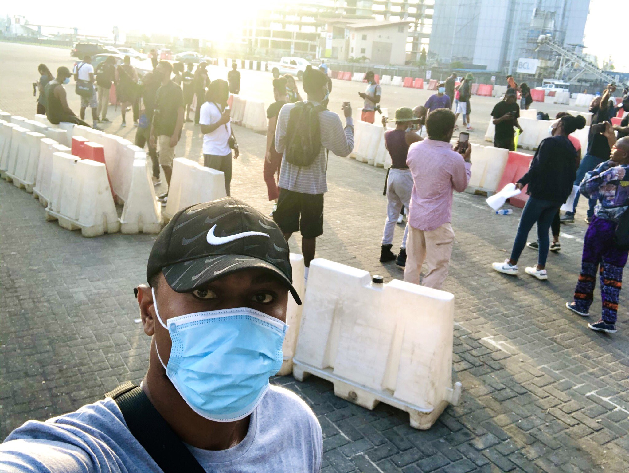 "lekki 02 ""Give your workers a day off to join the #SarsMustEnd protest"" – Reno Omokri asks Nigerian employers of labour"