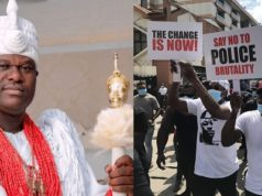ooni of ife warns