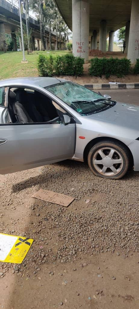 cars destroyed