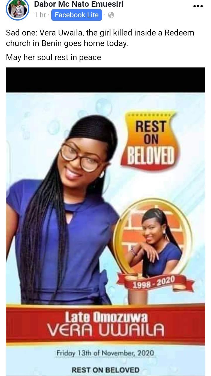 vera laid to rest